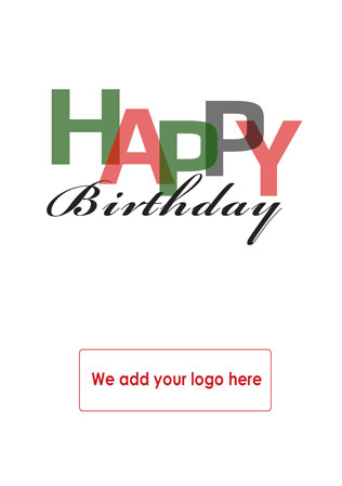 Personalised Client Birthday Cards Corporate Greetings Uk