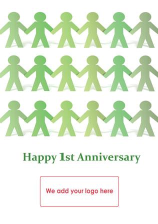 Job Anniversary Ja06 Corporate Greetings Uk