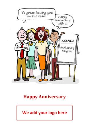 New Job Anniversary Archives - Corporate Greetings UK