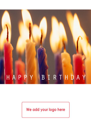 Personalised Client Birthday Cards